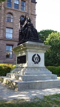 加拿大多伦多女王景观雕塑