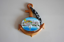 船锚钥匙链