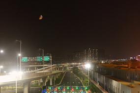 珠海港珠澳大桥公路口岸-道路和立交桥