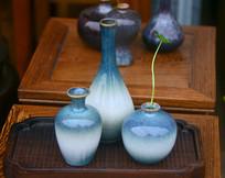 陶艺花瓶摆件