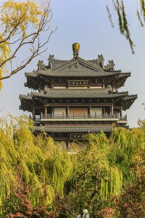 济南大明湖公园超然楼
