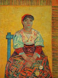 意大利女人油画