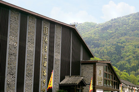 四川彭州丹景山景区游客中心