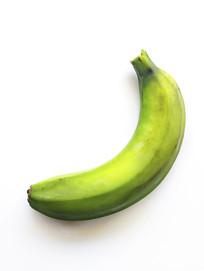 一只青香蕉