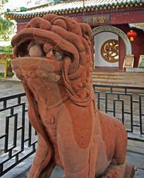 肇庆七星岩水月宫石狮