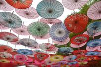 中国纸伞装饰