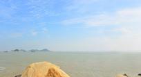 珠海海岸风光-九州岛及港珠澳大桥