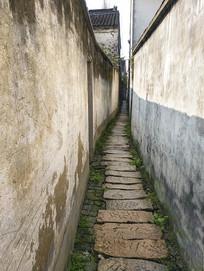 古镇悠长巷子