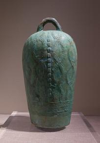 西汉文物铜钟