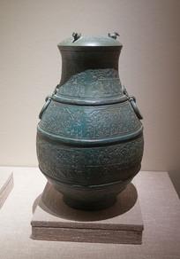 战国文物水陆攻战宴乐纹铜壶