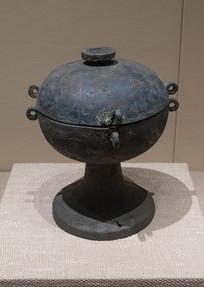 战国文物铜豆