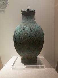 西汉文物错银铜钫
