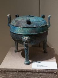 战国文物铜鼎