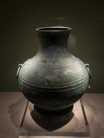 西汉文物铜壶