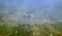 广西贺州城市鸟瞰