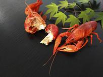 生态小龙虾素材