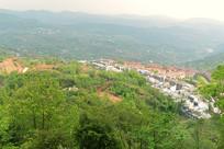 四川简阳山谷里的小镇
