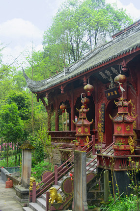 四川彭州丹景山鲁班庙