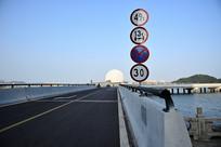 珠海新月桥入口