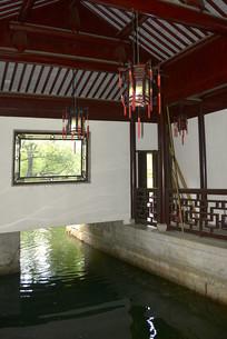 上海古猗园-遨游室内码头