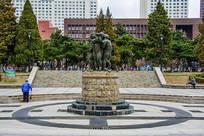沈阳中山公园儿童群雕塑与广场