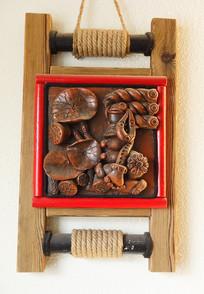 手工木雕挂件
