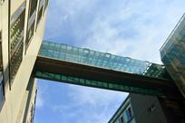 德国柏林城市建筑玻璃走廊