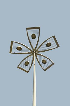 花瓣造型市路灯
