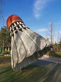 羽毛球景观雕塑
