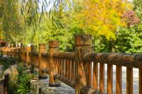 济南九如山木质栏杆
