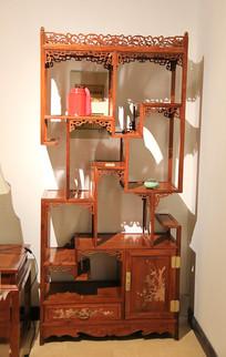 红木装饰柜