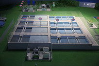 自来水厂模型