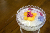 网红饮品-奶昔冰粉