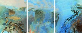 新中式水墨山水画