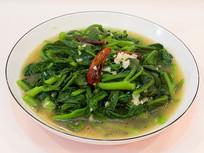炝炒蒜蓉木耳菜