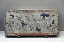 牧畜图壁画砖