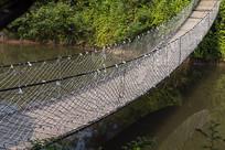 生态农庄吊桥