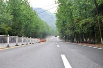 大山里的公路
