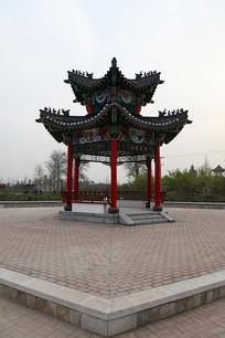 菏泽市曹州牡丹园凉亭