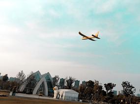 天空的飛機模型