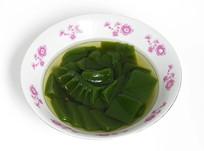 重庆巫山特色小吃翡翠凉粉