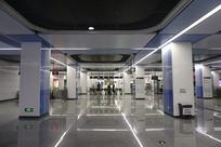 成都地铁1号线科学城站室内