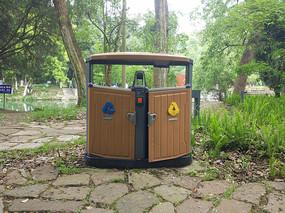 高清景区垃圾桶