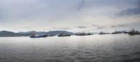 石浦渔港全景图