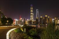 中国上海陆家嘴建筑景观