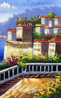 地中海背景画