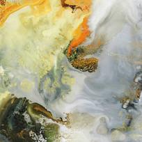 写意山水壁画