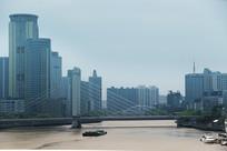 宁波外滩景色