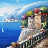 地中海风格画