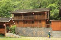 景区木质建筑造型